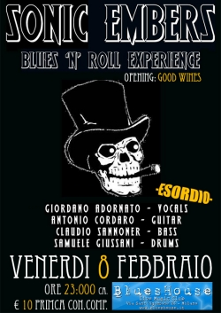 SONIC EMBERS Blues'n'Roll Explosion
