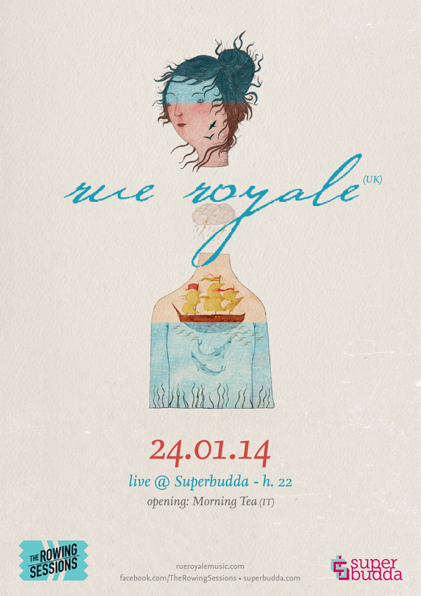 The Rowing Sessions: RUE ROYALE + MORNING TEA