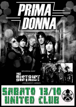 PRIMA DONNA + 2nd DISTRICT + HOLLYWOOD KILLERZ
