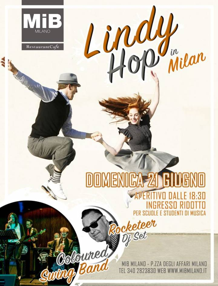 ☀ LINDY HOP in MILAN vol. 23 – SUMMER SUNDAY EDITION ☀