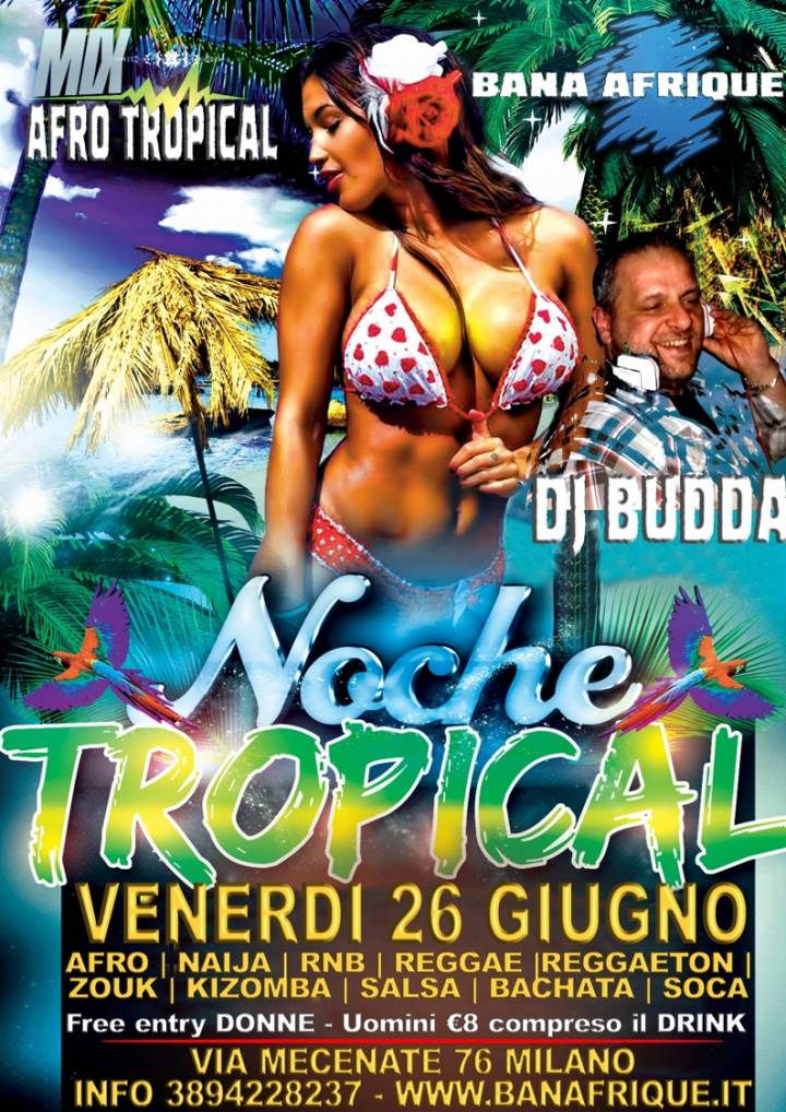 AFRO NOCHE TROPICAL