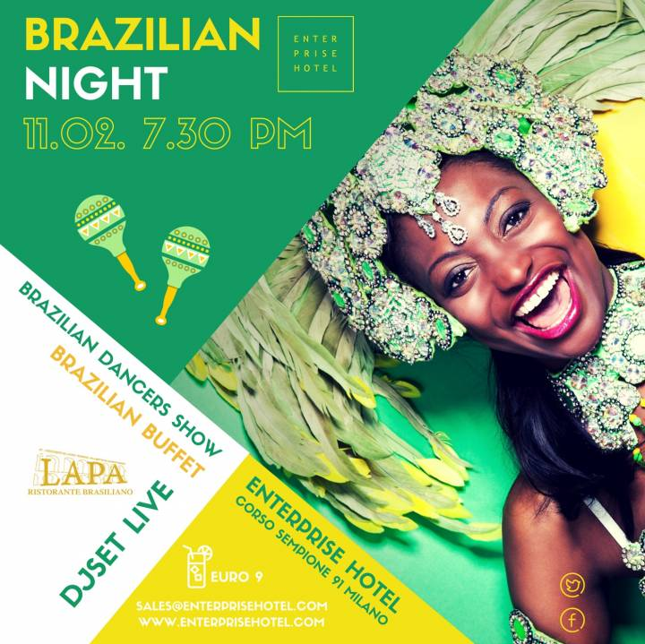 "Happy hour Enterprise Hotel "" Brazilian Night"""