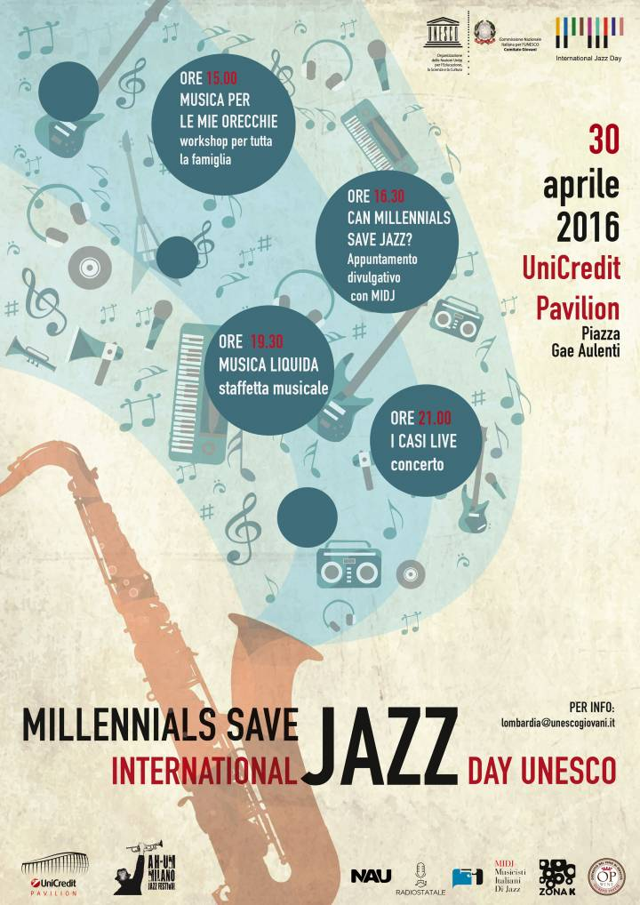 International Jazz Day UNESCO - MILLENNIALS SAVE JAZZ