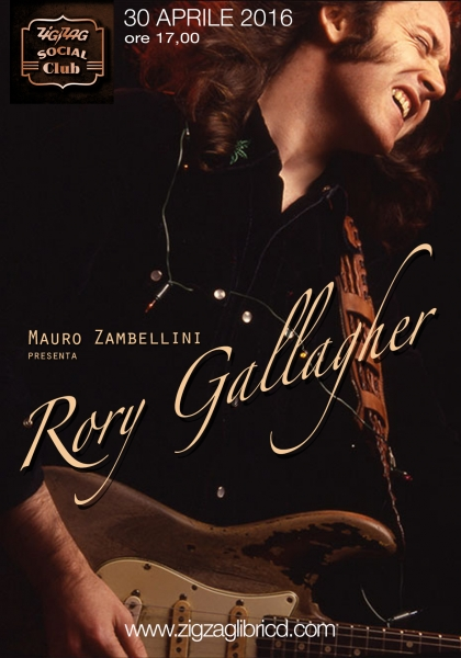 Mauro Zambellini presenta Rory Gallagher