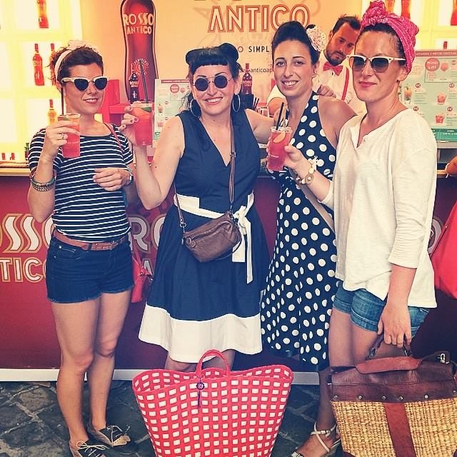 Red Sixties Party by Rosso Antico