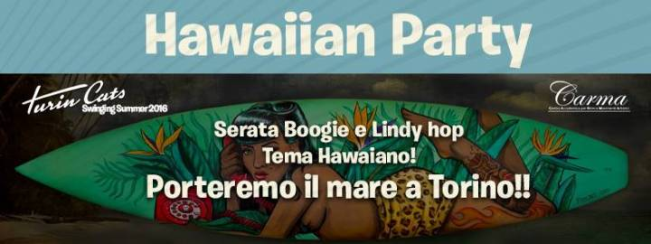 Hawaiian Party! Swing in and swing out