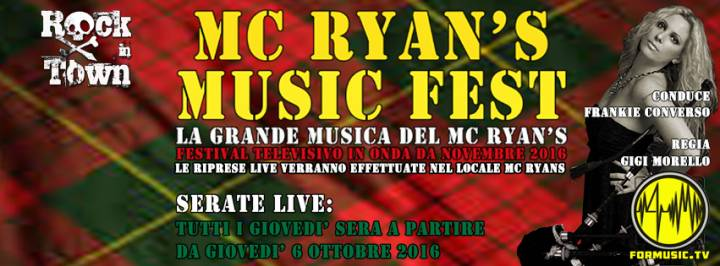 Mc Ryan's MUSIC FEST