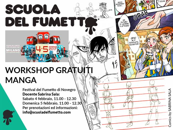 Workshop Gratuiti di Fumetto