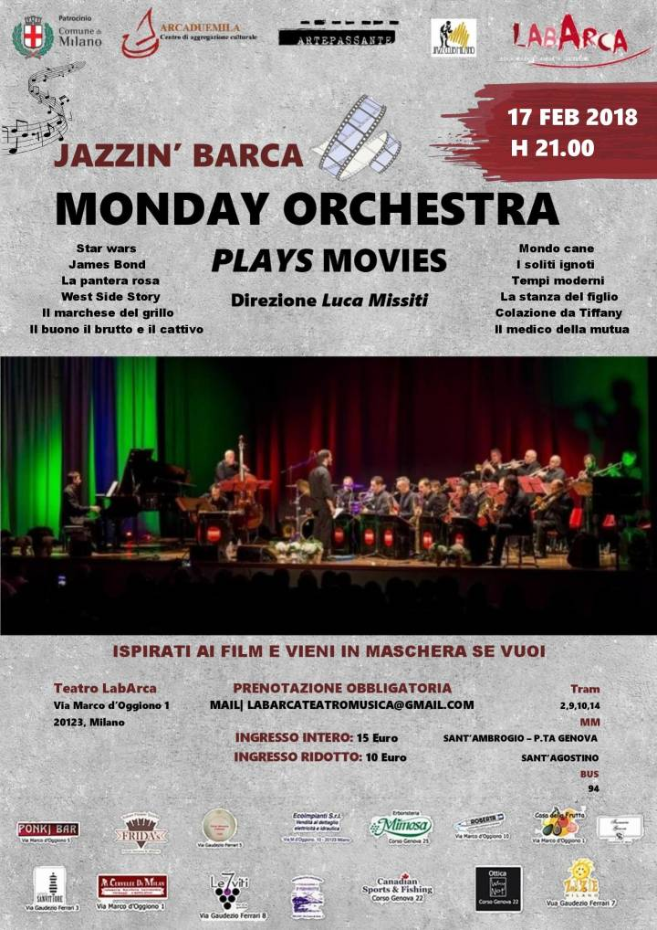 Monday Orchestra Plays Movies