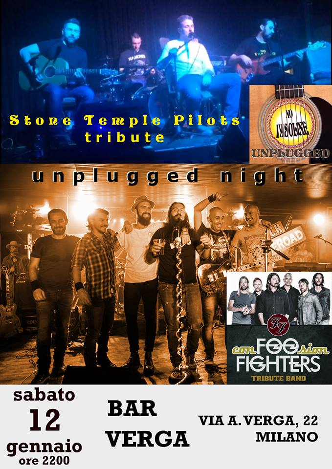 Foo Fighters Stone Temple Pilots Unplugged Night