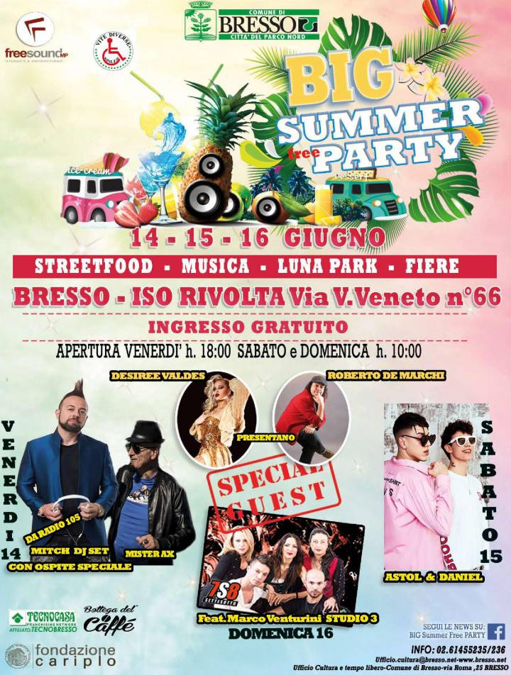BIG Summer Free PARTY